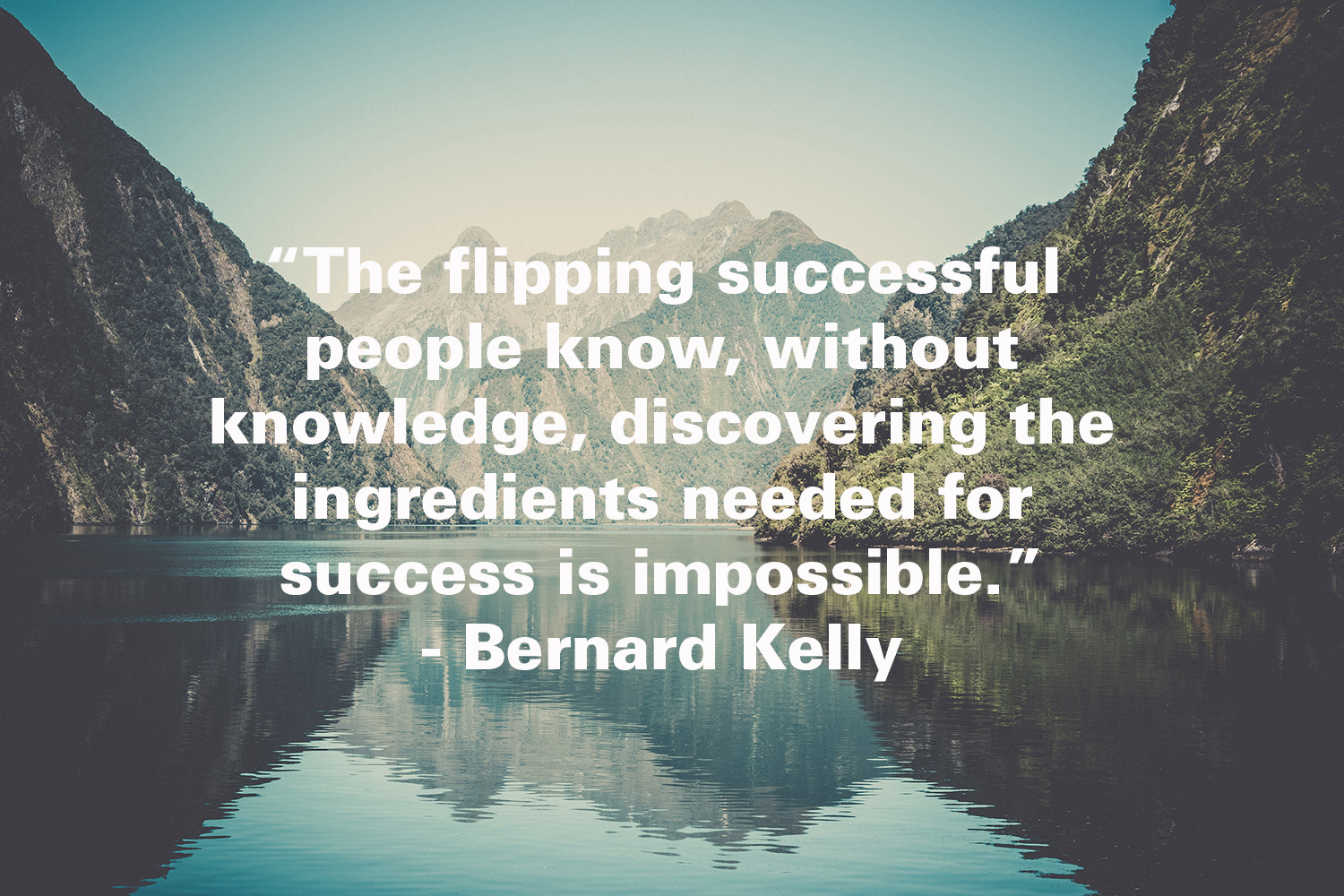 The Flipping Successful People…