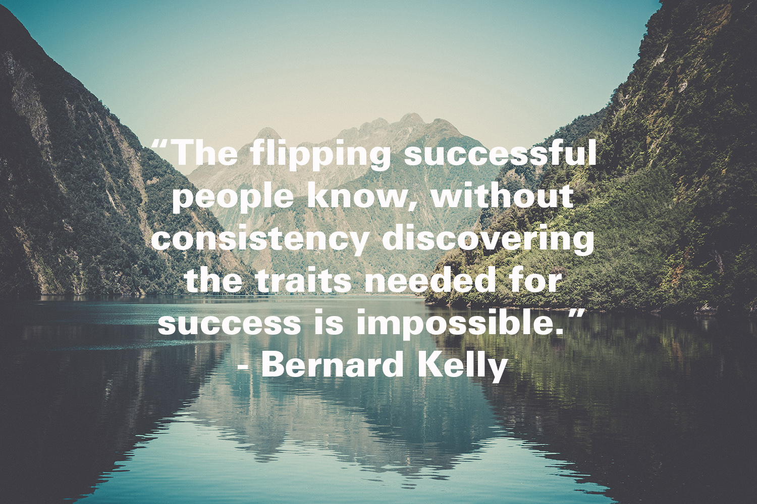 Become Consistent…